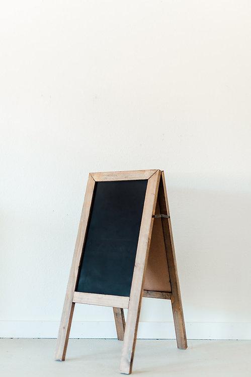 Wood Sandwich Chalkboard