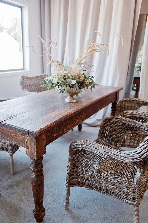 Antique Refectory Farm Table