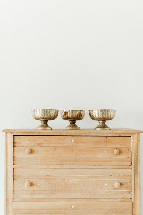 Gold Compote Vase