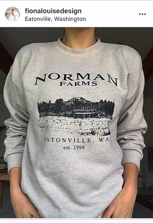 Norman Farms crew sweatshirt