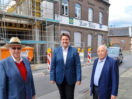 """Erweiterung des Bürgerhauses Küz """"im Plan"""""""