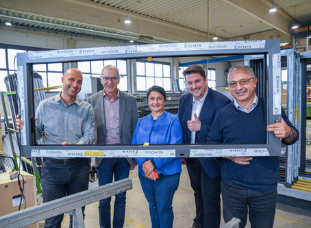 Zu Besuch bei der Keskin Fensterbau GmbH