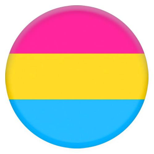 Pansexual 32mm Badge