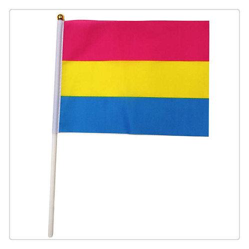 Pansexual Handheld Flag