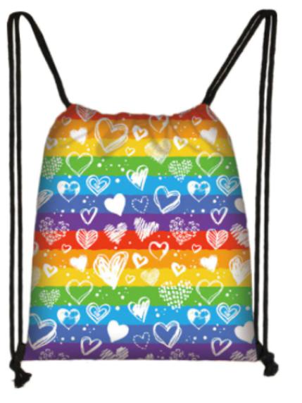 LGBT Hearts Bag