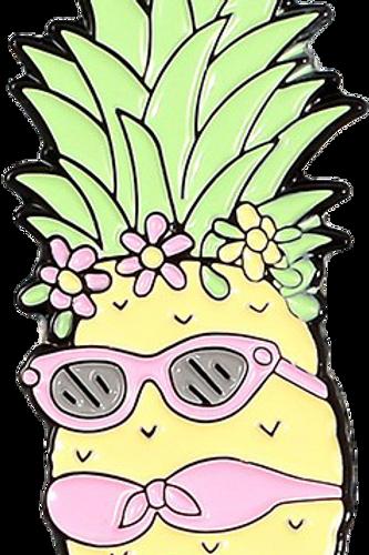 Miss Pineapple Pin