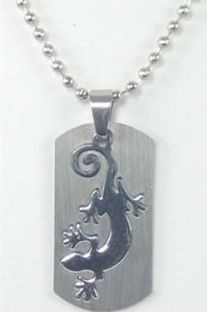 Gecko Necklace