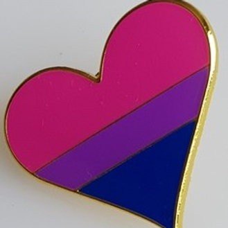 Bisexual Lapel Pin