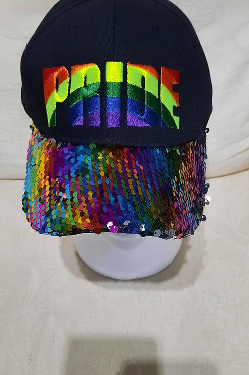 Pride Sequin Baseball Cap