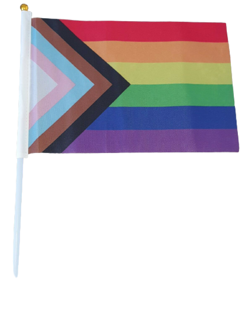 Progress Handheld Flag