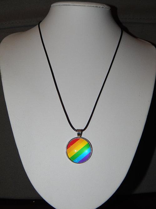 LGBT+Flag Necklace