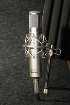 Студийный ламповый микрофон Nady TCM 1150 vs capsule K67 (custom)