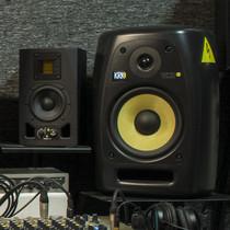 Мониторы KRK VXT8 и Adam A3x