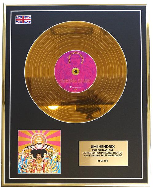Jimi Hendrix - Axis:Bold As Love