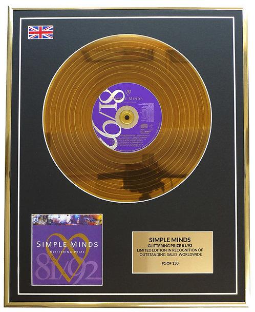 Simple Minds - Glittering Prize 81/92