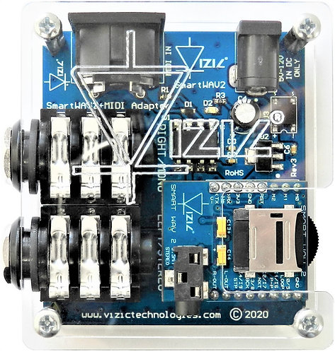 SmartWAV 2 + MIDI Adapter - Professional Audio System