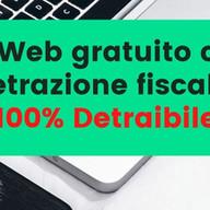 Sito Web gratuito con la detrazione fiscale! 100% Detraibile!