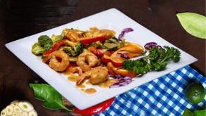 Shrimp or royal chicken recipe