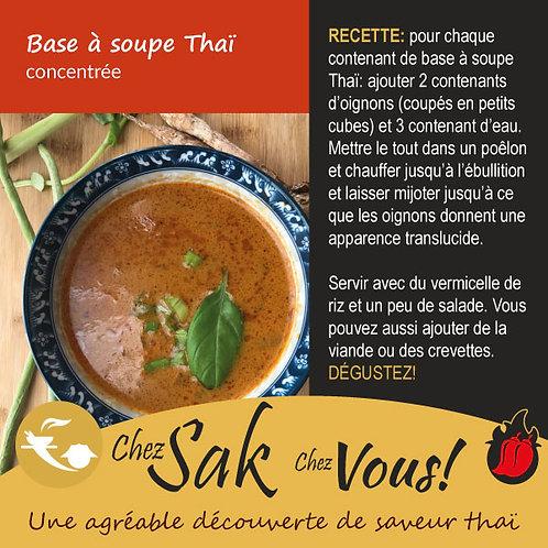 Base à soupe Thaï concentrée à commander en ligne