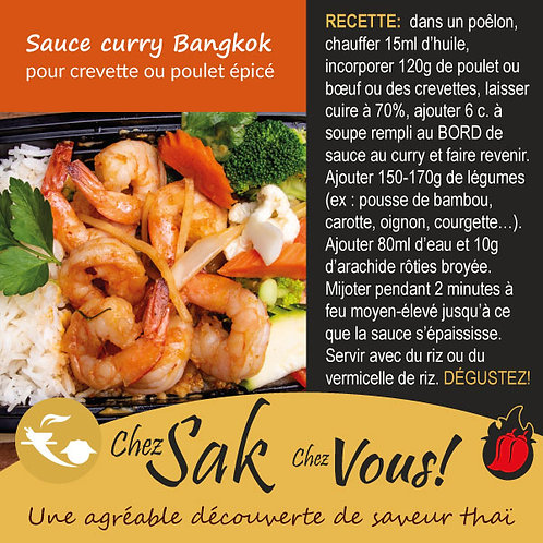 Sauce curry Bangkok à commander en ligne