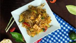 Chicken or tofu chowmein