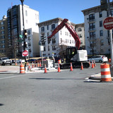 Installed Manhole at 16th NW & Harvard St.