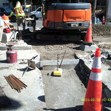 Compaction test MH-B to MH-C at Harvard St. & 16th St. NW.