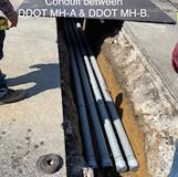Conduit between DDOT MH-A & DDOT MH-B.