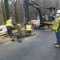 Contractor excavated and removed PEPCO poles