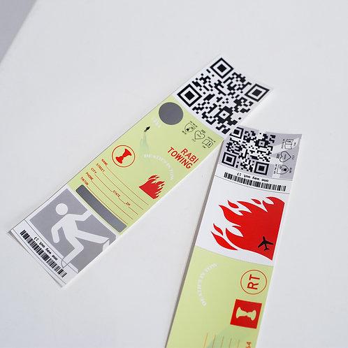 Scratcher Sticker pack w/coin