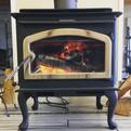 Warm mornings _woodfamilyheating  #fire