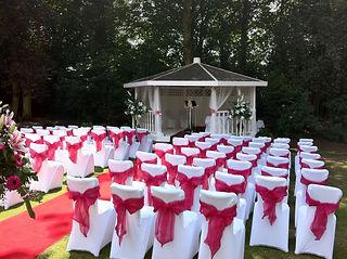 Al Fresco Wedding Photo