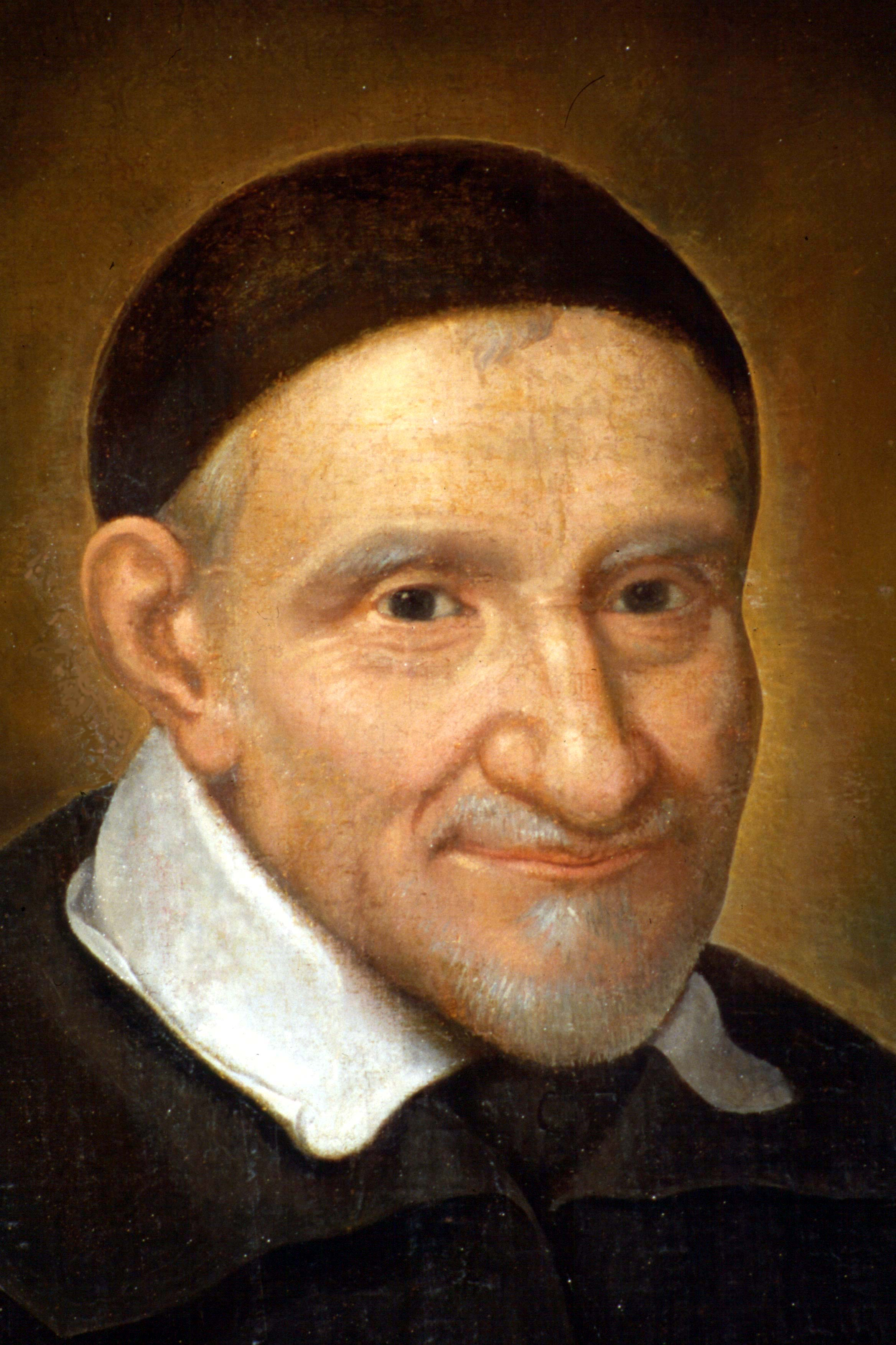 St Vincent de Paul_Paris, Maison mere, de Tours portrait detail.jpg