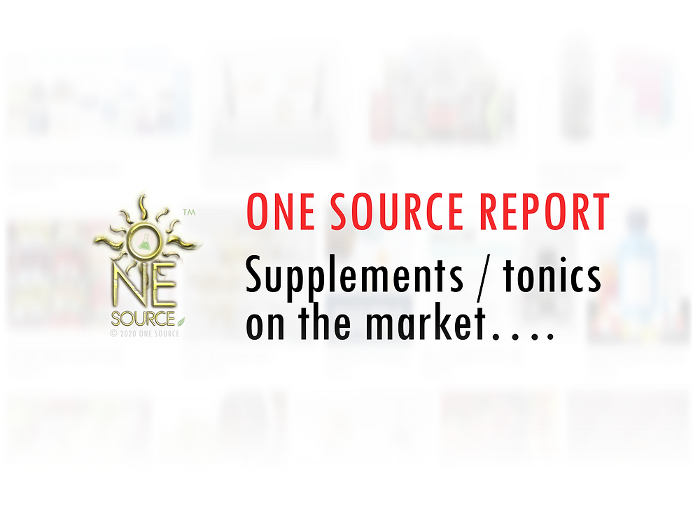 Supplements / tonics on the market….