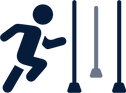 Slalomlauf, Disziplin, Ostschweizer Sportfest 2022 Niederhelfenschwil, TVNH, Turnverein Niederhelfenschwil