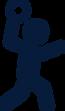 Sektionswettkampf 3-teilig, Weitwurf, Disziplin, Ostschweizer Sportfest 2022 Niederhelfenschwil, TVNH, Turnverein Niederhelfenschwil