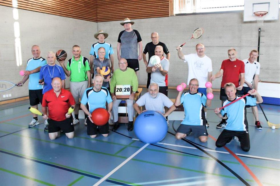 TVNH, Turnverein Niederhelfenschwil, Männerfitness ab 60