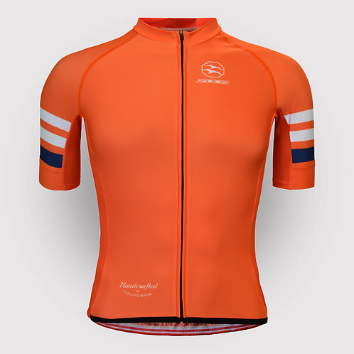 STRIPES ORANGE JERSEY MEN