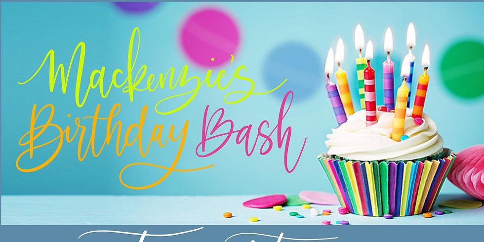 Mackenzie's Birthday Paint Party