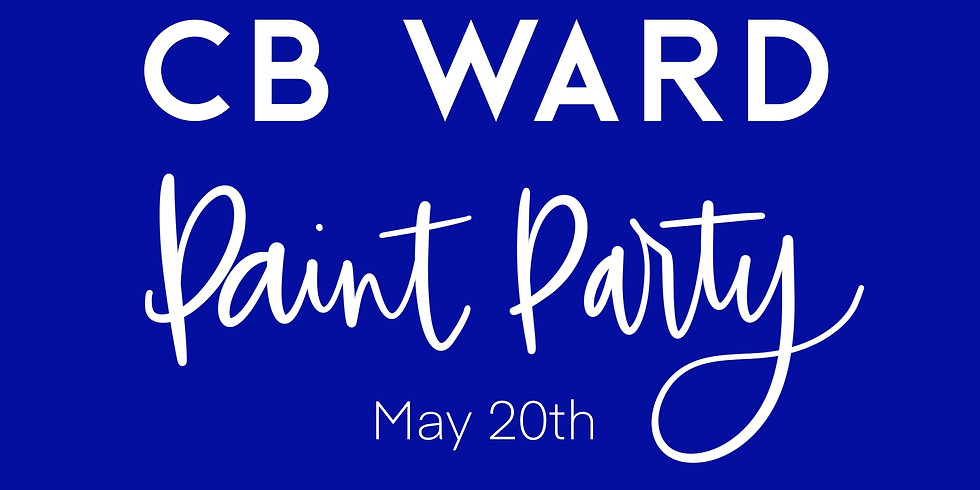 CB Ward Paint Party