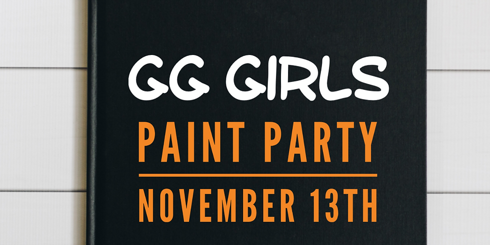 GG Girls Paint Party