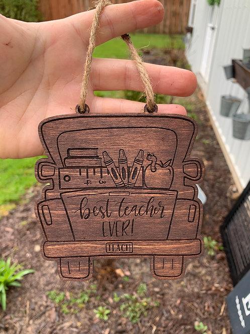 """4"""" Engraved Teacher Gift"""