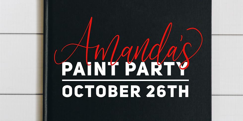 Amanda's Paint Party