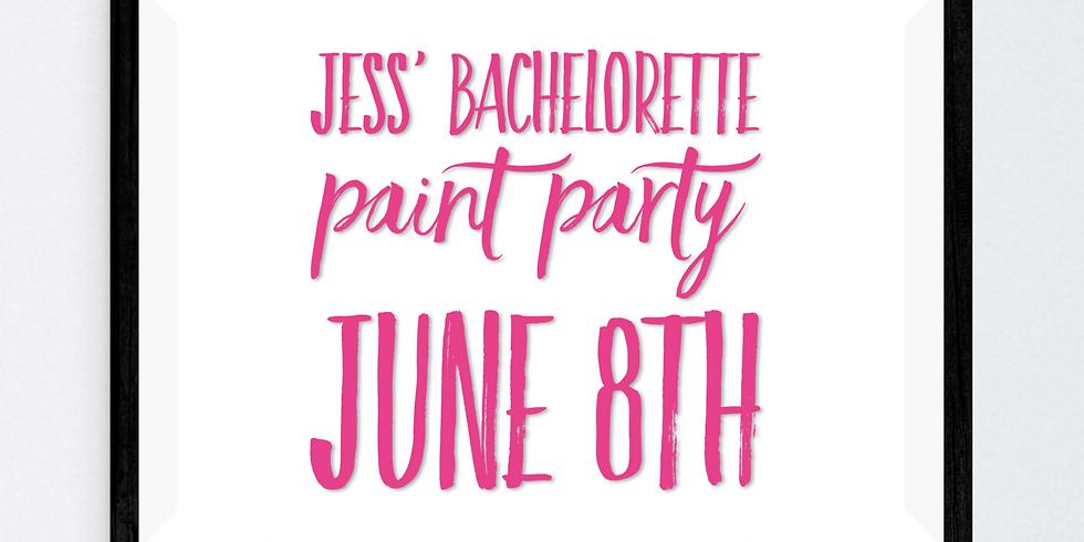 Jess' Bachelorette Paint Party