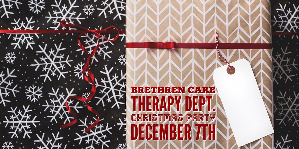 Brethren Care Therapy Dept. December 7th