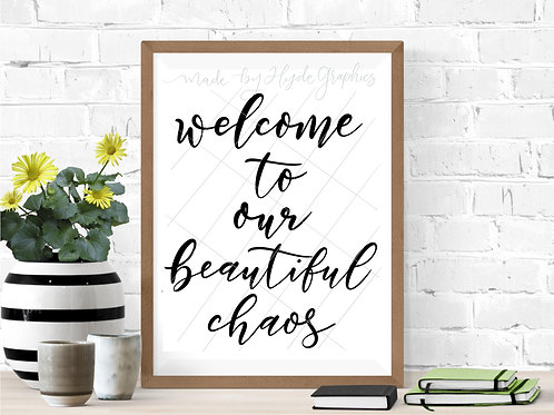 Welcome to our Beautiful Chaos digital file