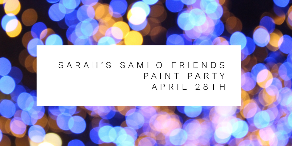 Sarah's Samho Friends Paint Party