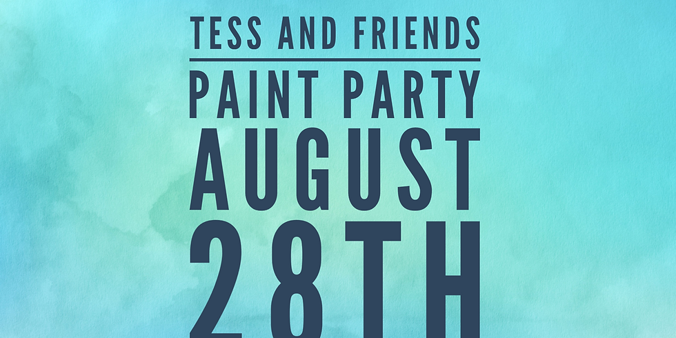 Tess and Friends Paint Party (1)