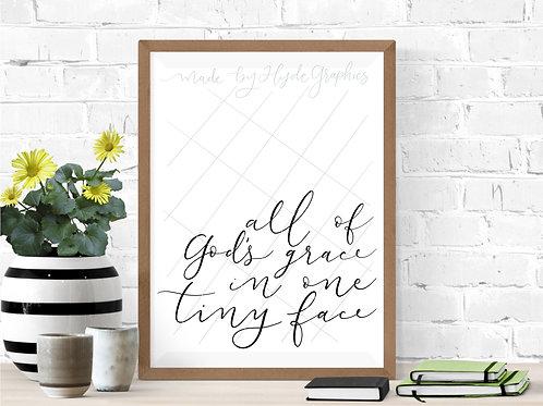 All of God's grace digital file