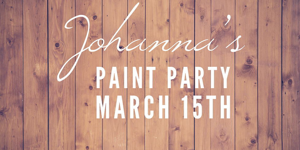 Johanna's Paint Party